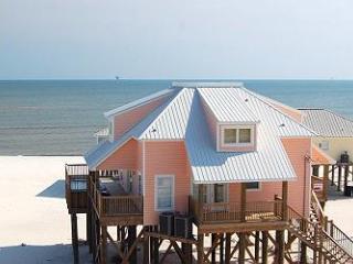Kowabunga! Large Gulf-side Beach House with Pool, Game Room, Crow's Nest - Dauphin Island vacation rentals