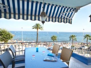 Beach front apartment in Golfe Juan - Golfe-Juan Vallauris vacation rentals
