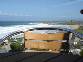 Fistral Beach View,  luxury sea view & balcony - Newquay vacation rentals