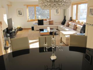 Klosters Apt. 8 Mins walk to Lifts + Sauna.  Excellent Value! - Klosters vacation rentals