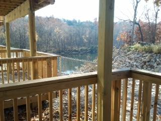 view from deck - Waterview, walk-in, wi-fi, 1 bedroom, amenities - Branson - rentals