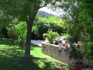 Lush greenery at the foot of the Luberon - Maubec vacation rentals