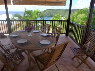 VILLA ROSE PHOENIX APPART. TERRASSE VUE MER - Les Anses d'Arlet vacation rentals