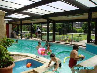 Maison Papillon private pool and games room - Niort vacation rentals
