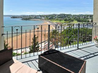 14 Astor House Stunning sea views from all windows and large balcony sleeps 6 - Torquay vacation rentals