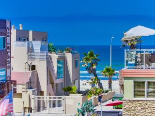 Panoramic **Ocean Views**, Rooftop Deck!!! - Pacific Beach vacation rentals