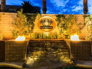 Las Vegas Mansion The Black Water Oasis Sleeps 22 - Las Vegas vacation rentals