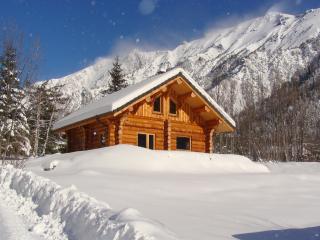 La Cabane des Capucins, chalet en rondins v Oisans - Chantelouve vacation rentals