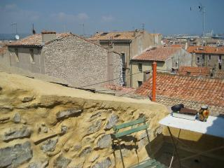 Beautiful flat Sete, Languedoc, with roof terrace - Sete vacation rentals