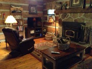 Private Log Cabin/waterfall/ king/queen beds - Cashiers vacation rentals