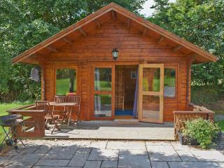 Beautiful Cabin with Deck and Balcony - Llanddeusant vacation rentals