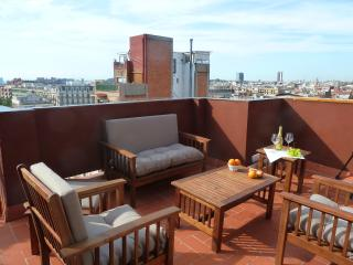 Central penthouse, city views! - Barcelona vacation rentals