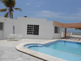 Caglez Beachfront house with Pool & WiFi Internet - Progreso vacation rentals