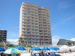 Tradewinds As Seen From Beach - AFFORDABLE GULF FRONT PARADISE - Orange Beach - rentals