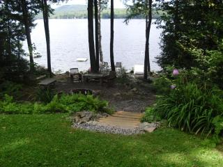 Beautiful 3 Bedroom Lake House on Embden Pond - Sugarloaf vacation rentals