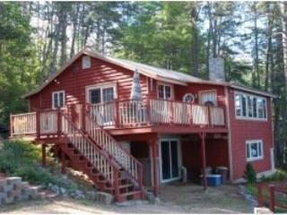 All Season Lake Ossipee NH Waterfront Home Private - Freedom vacation rentals