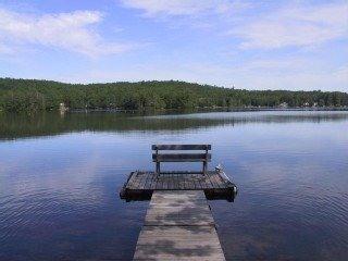 5 Acres Lakefront Estate Villa w/500' waterfront - Litchfield vacation rentals