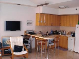 On the water one bedroom and living room in Marina - Herzlia vacation rentals