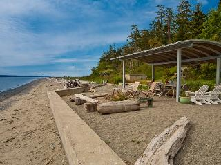 Luxury Beachfront Compound with Private Pool - Puget Sound vacation rentals