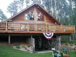 Three Lakes Log Home (Deer Lake,Three Lakes Wiscon - Three Lakes vacation rentals