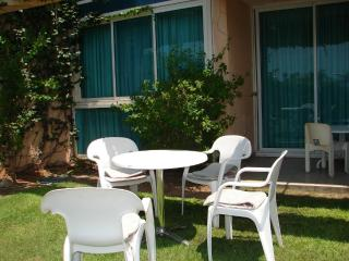 Charming garden apartment in relaxing Caesarea - Israel vacation rentals