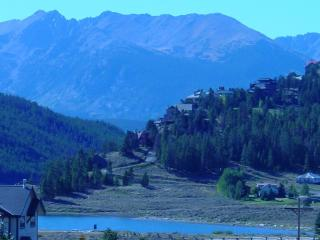 Views of Lake Dillon from our fantastic condo! - Dillon vacation rentals