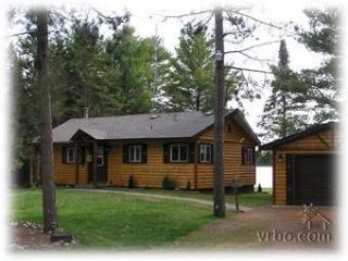 3BR LAKEFRONT LOG CABIN ON LOST LAKE-ST.GERMAIN,WI - Sayner vacation rentals