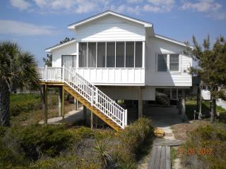 Beach house on shore of Folly Beach, S Carolina - Folly Beach vacation rentals