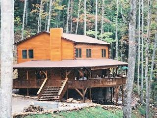 6 bedroom upscale log home - Franklin vacation rentals