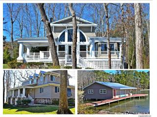 Vacation Rental on Lake Guntersville. Sleeps 15. - Lake Guntersville vacation rentals