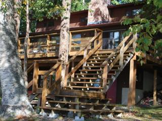 Lakefront Home with Private Beach and Scenic Vista - Tappen vacation rentals