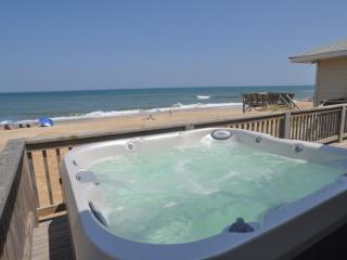 OBX Oceanfront Cottage - Hot Tub - 4 Bedroom - Kitty Hawk vacation rentals