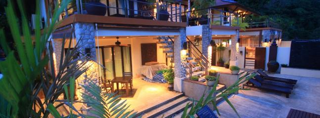 Kalimat 9 - Stunning 9 Bedroom Modern Thai Style with Seaviews - Image 1 - Patong - rentals