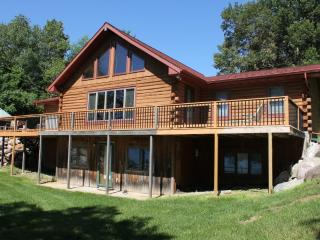 Log Cabin Home On Scenic May Lake, Walker MN - Hackensack vacation rentals
