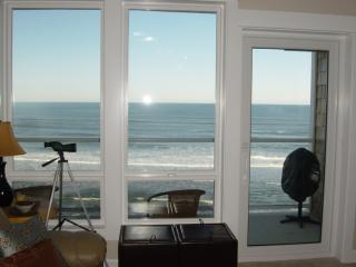 2 Bdrm, Top Floor, Best Oceanfront Views + HOT TUB - Lincoln City vacation rentals