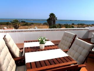 Terrace apartment with magnificent sea view - Cabanas de Tavira vacation rentals