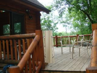 vacation getaway in the woods with lakeviews - Apple River vacation rentals
