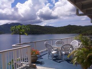 Spectacular Waterfront Villa/Own Snorkeling Beach - East End vacation rentals
