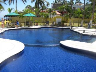 Modern Oceanfront Condo in Los Ayala, Mexico - La Penita de Jaltemba vacation rentals