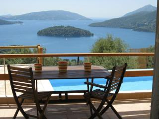 Hilltop seaviews, private, can walk to seashore - Perigiali vacation rentals