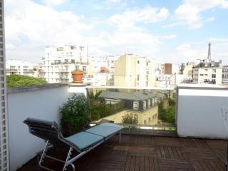 Eiffel Tower, terrace, top floor - Paris vacation rentals