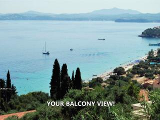 Sea view one bedroom apartment Barbati - Sotos - Barbati vacation rentals