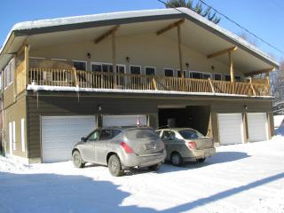 Chateau Edelweiss over looking  the Ski Hills - La Peche vacation rentals