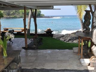 Oceanfront Private Home, Magic Sands, Lymans Bay - Kailua-Kona vacation rentals