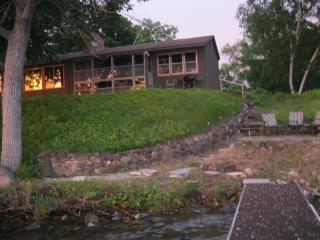 Vintage vacation cabin on beautiful Sugar Lake - Annandale vacation rentals