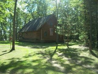 BEAUTIFUL YEAR-ROUND AMISH BUILT LOG CABIN - Baldwin vacation rentals