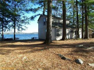 Lakefront Cottage with Downeast Decor: Tripp Lake - Western Maine vacation rentals