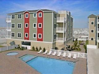 Beach Block, Private Balcony, 2 Pools - Wildwood Crest vacation rentals