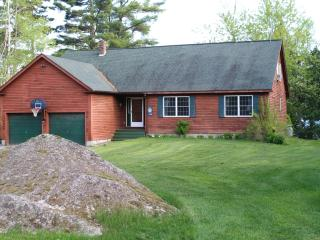 Waterfront home on crystal clear Beech Hill Pond - DownEast and Acadia Maine vacation rentals