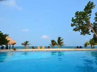 one BR suites for rent - pool, beach & restaurant - Placencia vacation rentals